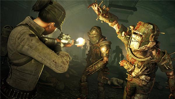 僵尸部队4死亡战争游戏