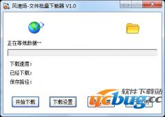 风清扬文件批量下载器v1.0 免费版