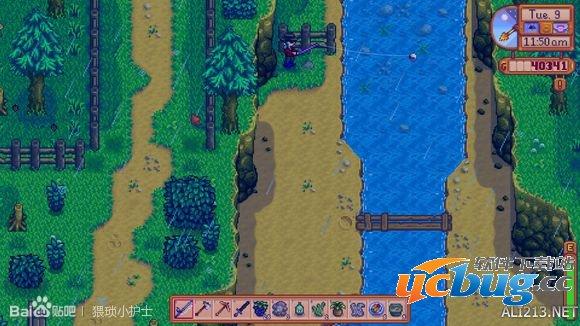 《像素谷》游戏中金星鱼在哪钓?