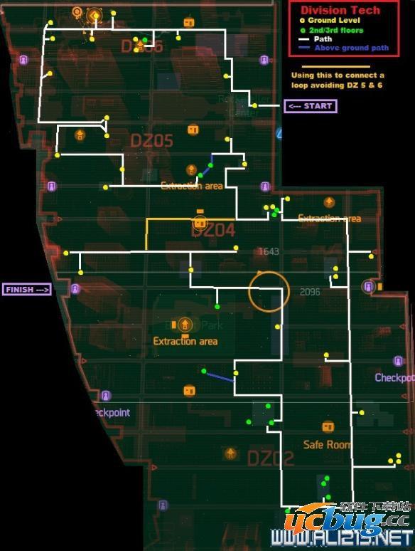 《汤姆克兰西:全境封锁》暗区刷装备路线介绍