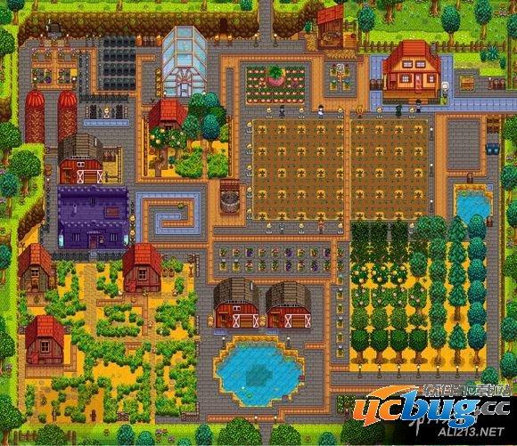 《星露谷物语/像素谷》农场布置图有哪些 如何布置