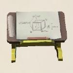 三级绘图桌