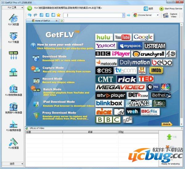 GetFLV Pro下载