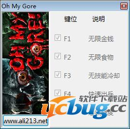 Oh My Gore修改器