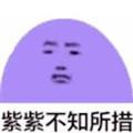 紫紫不知所措表情包9P下载